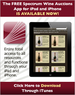 Spectrum Wine Auctions iOS Mobile App